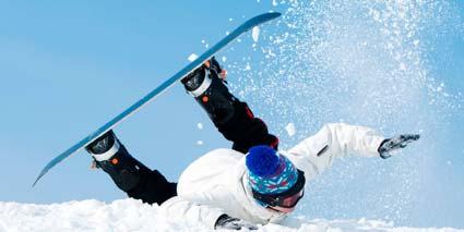 Lesiones típicas en el snow
