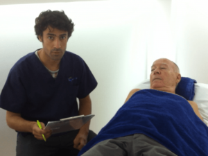 Tratamiento con ondas de Choque, testimonio del tratamiento.