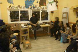 """Fisioterapia infantil, Fisiolution: Chalarla en la escuela infantil """"La Guarde"""""""
