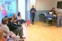 Fisioterapia infantil Las Tablas: Charla en Escuela Infantil Inizia del Distrito C.