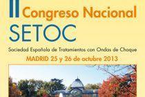 SETOC, II Congreso Nacional de ondas de choque.
