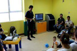 Fisioterapia infantil y accidentes infantiles en  la E.I. La escuelita.