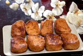 Nutrición y dietética: Semana santa y las torrijas.