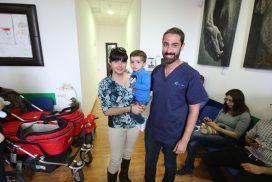 Fisioterapia respiratoria infantil, resultados después de 2-3 tratamientos