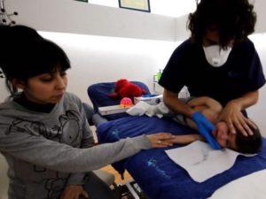 Fisioterapia respiratoria infantil, tratamiento vías altas (VAS) Fisiolution Las Tablas.