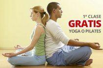 Pilates o Yoga, primera sesión gratis,