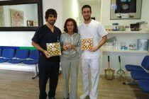 Buenas recompensas de nuestros pacientes, así da gusto!