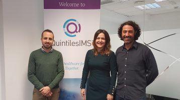 Quintiles IMS confía en Fisiolution, como su gestor del área salud y fisioterapia empresa.