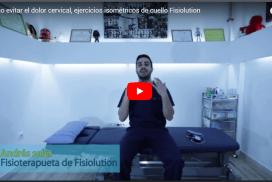Cómo evitar el dolor cervical, ejercicios isométricos de cuello