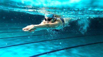 La natación y sus lesiones más frecuentes