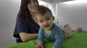 Tortícolis muscular congénita: Recomendaciones y ejercicios para hacer en casa