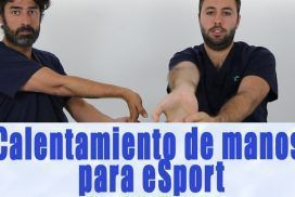 Fisiogamer calentamiento de manos para eSport