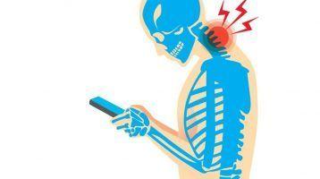 ¿Por qué me duele el cuello cuando miro el móvil?