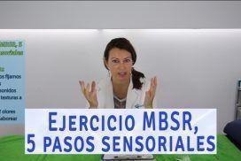 Ejercicio mindfulness o MBSR, 5 pasos sensoriales hacia la relajación