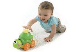 Ejercicios para estimular el gateo de tu bebé