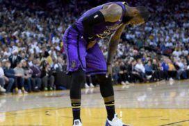 ¿Cuál ha sido la lesión de LeBron James esta temporada?