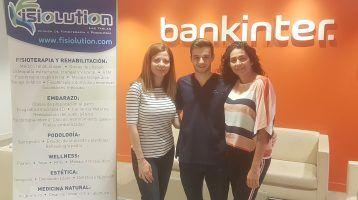Bankinter confía en FISIOLUTION para realizar la semana de la salud