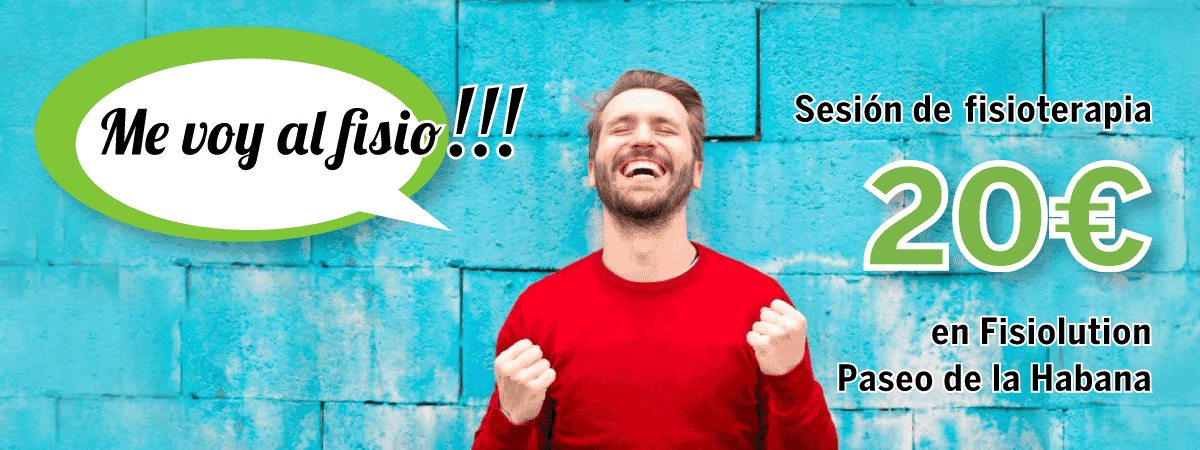 Promoción Sesión de Fisioterapia Paseo de la Habana por 20€